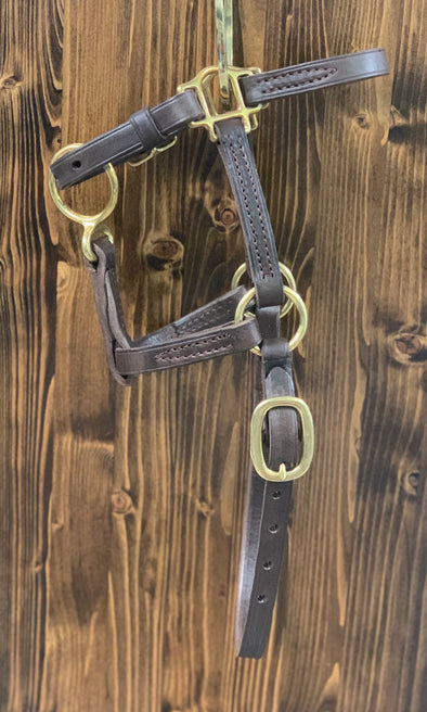 Bluegrass Leather Turn Out Halter