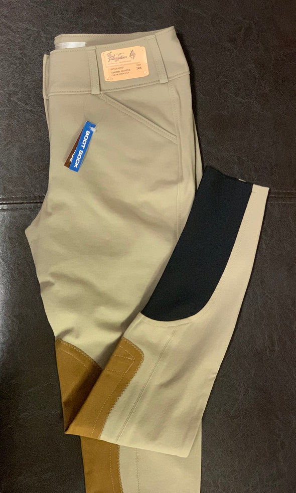 Tailored Sportsman Boot Sock Breeches Low Rise FZ