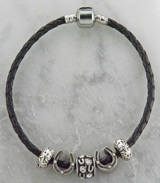 The Finishing Touch of Kentucky Joppa  Horse Shoe Bracelet - The Tack Shop of Lexington - 1