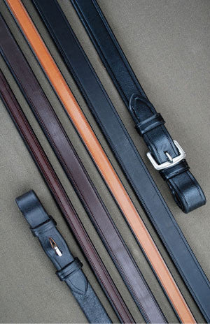 Red Barn Plain Leather Reins - The Tack Shop of Lexington