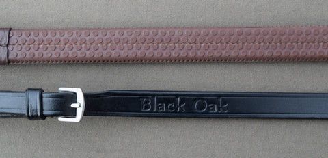 "Black Oak 5/8"" Rubber Reins"