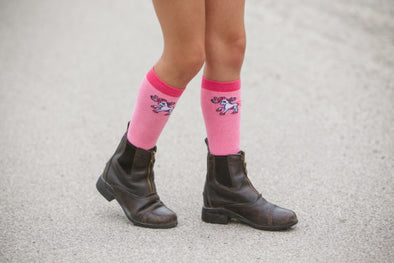Belle & Bow Logo Socks