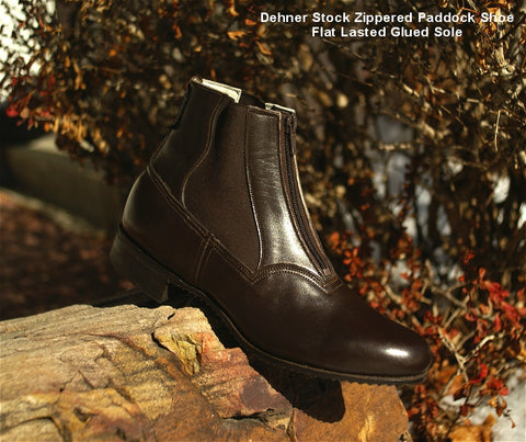 Dehner Mens ZipGores Paddock Boots - The Tack Shop of Lexington