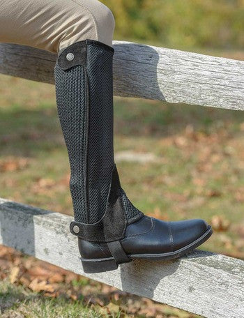 Shires Childs Mesh Half Chaps - The Tack Shop of Lexington