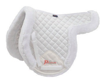 Shires Supafleece Rimmed Shaped Pad - The Tack Shop of Lexington