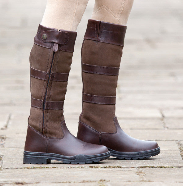 Shires Broadway Long Leather Boots - The Tack Shop of Lexington