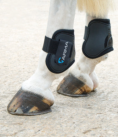 Arma Open Front Fetlock Boots