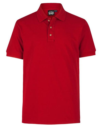 Playera Polo Rojo