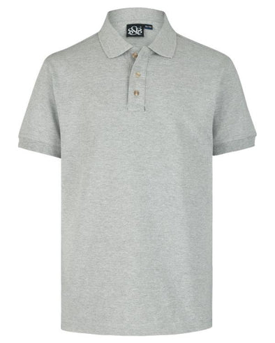 Playera Polo Jaspe Oscuro