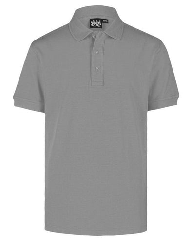 Playera Polo Plomo