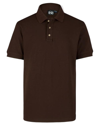 Playera Polo Caballero Chocolate A0400