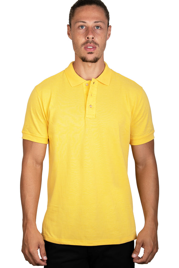 Playera Polo Amarillo