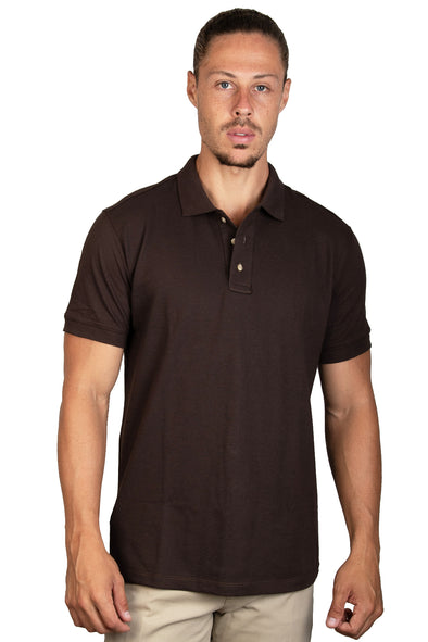 Playera Polo Chocolate