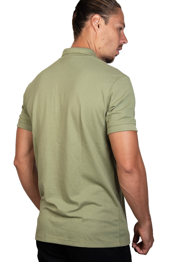 Playera Polo Hoja