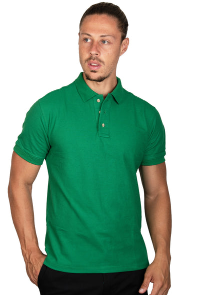 Playera Polo Verde