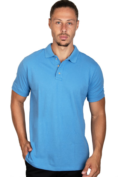 Playera Polo Plumbago