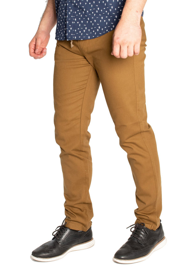 PANT. RELAX CONQ OCRE