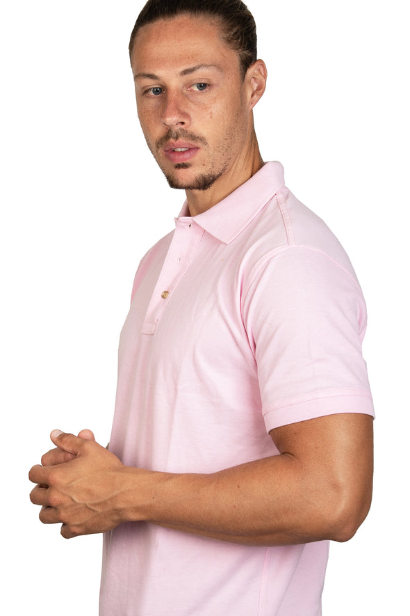 Playera Polo Rosa