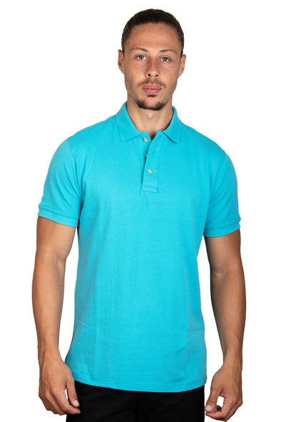 Playera Polo Turquesa