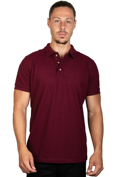 Playera Polo Vino