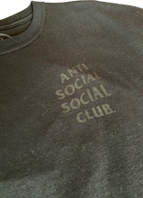 Load image into Gallery viewer, Anti Social Social Club Dramatic Black Floral T-Shirt