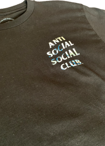 Anti Social Social Club Black Tonkotsu T-Shirt