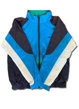 Load image into Gallery viewer, Vintage Adidas Blue Windbreaker (Women's)