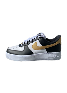 Air Force 1 Low Black and Gold