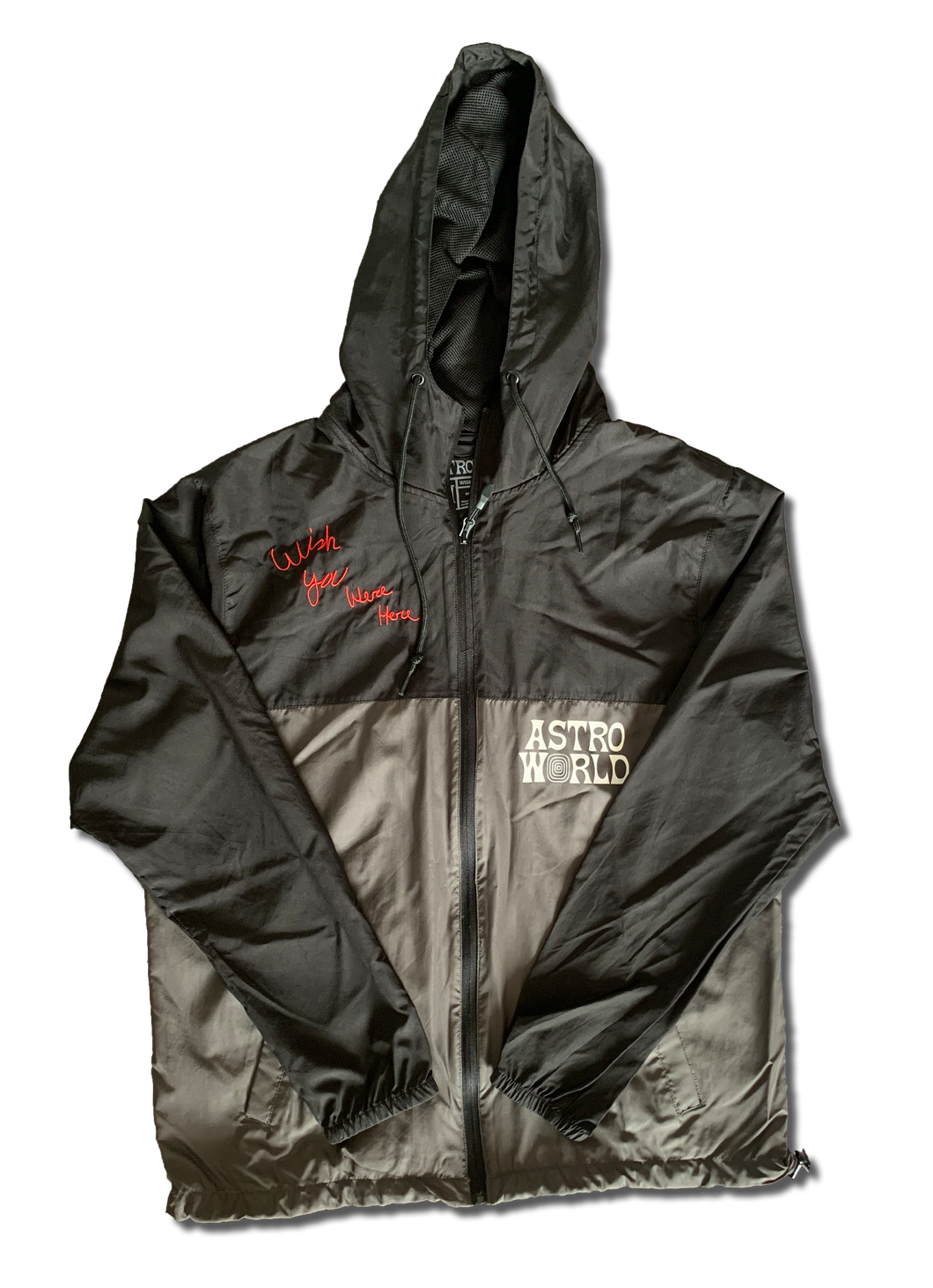 Travis Scott Astroworld Tour Windbreaker