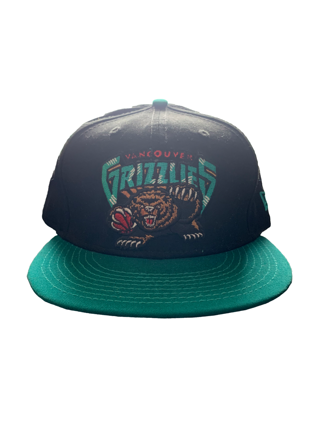 Vintage Vancouver Grizzlies Hardwood Classic Nights Snapback