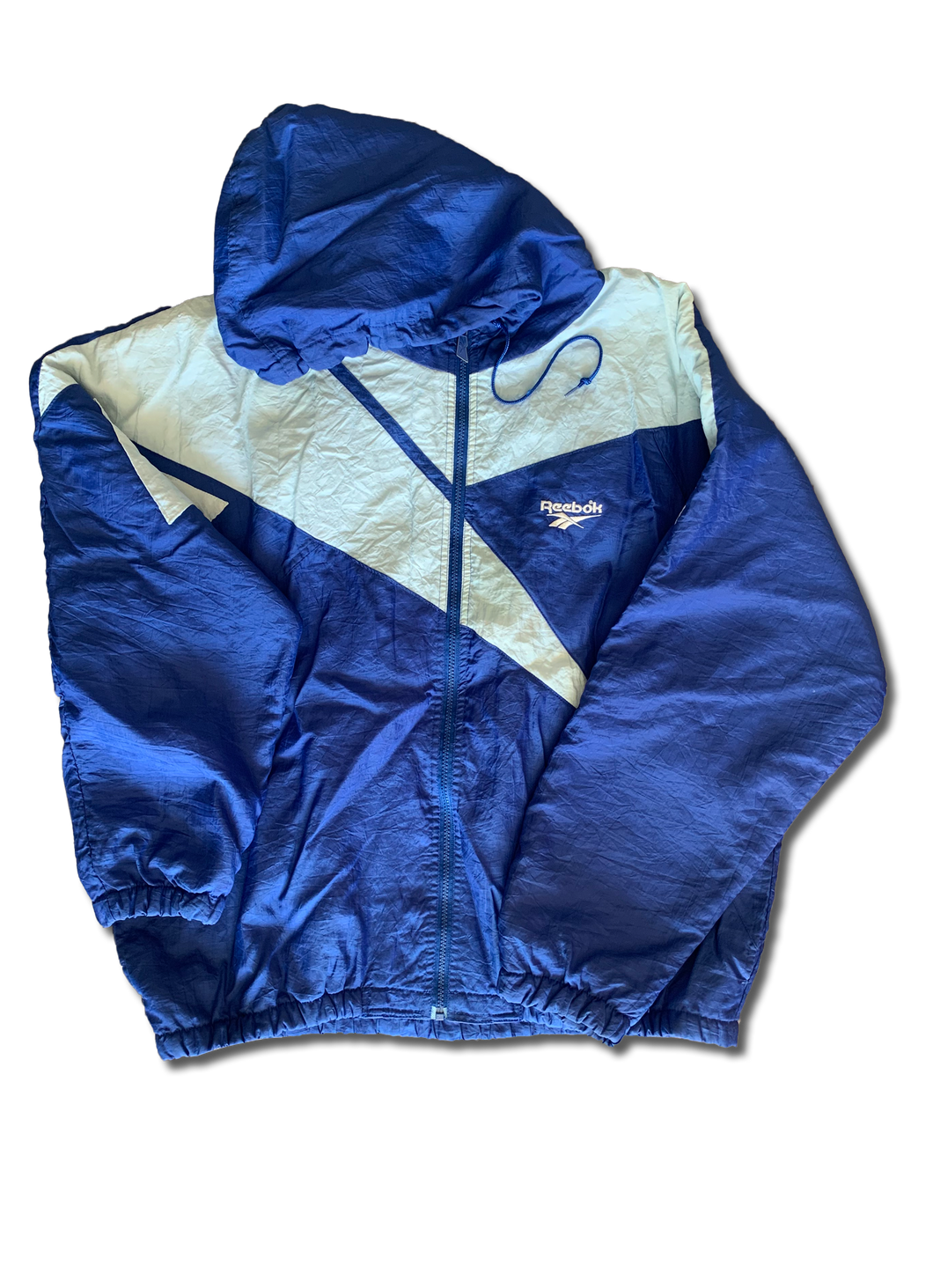 Vintage Reebok Hooded Jacket