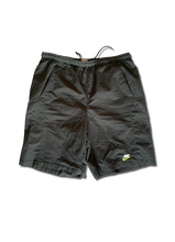 Load image into Gallery viewer, Nike Green Logo Shorts
