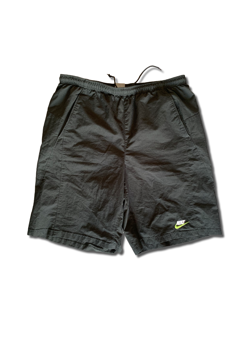 Nike Green Logo Shorts