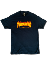 Load image into Gallery viewer, Thrasher Flames T-Shirt