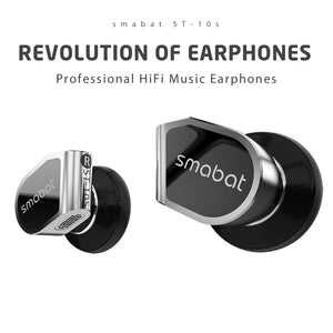 Smabat ST-10s Revolution of Hi-Fi Headphones( The unique labyrinth acoustic structure)