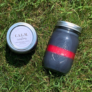 THIN RED LINE Large Jar Candle