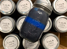 Load image into Gallery viewer, THIN BLUE LINE Large Jar Candle