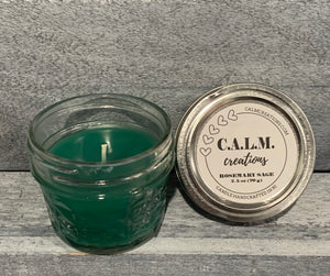 ROSEMARY SAGE Small Jar Candle