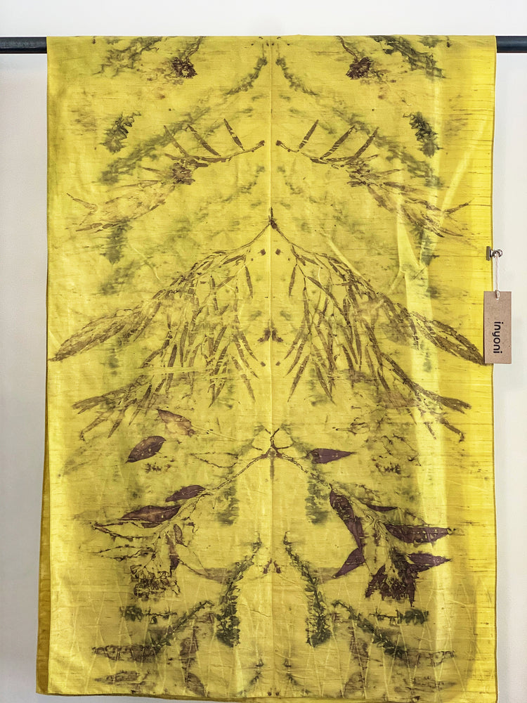 Dupioni silk wrap - Print 5/1Aug19