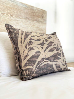 Flax linen scatter cushion - Print 9/10Mar20