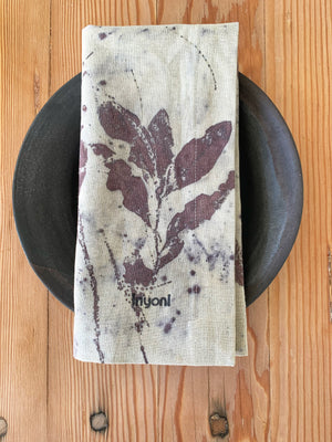 Load image into Gallery viewer, Hemp linen table napkins - Print 2/13Jun20