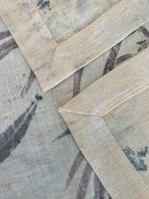 Flax linen table runner - Print 1/27Mar20