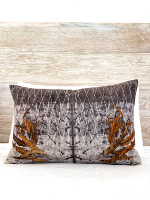 Hemp linen scatter cushion - Print 6/12Mar20
