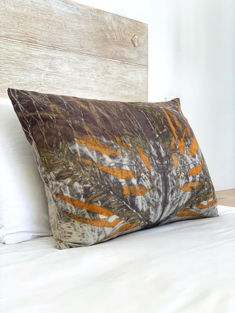 Hemp linen scatter cushion - Print 1/11Mar20