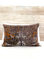 Hemp linen scatter cushion - Print 3/12Mar20