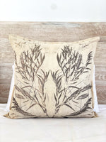 Hemp linen scatter cushion - Print 4/12May20