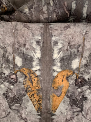 Load image into Gallery viewer, Hemp linen wrap - Print 1/12Mar20