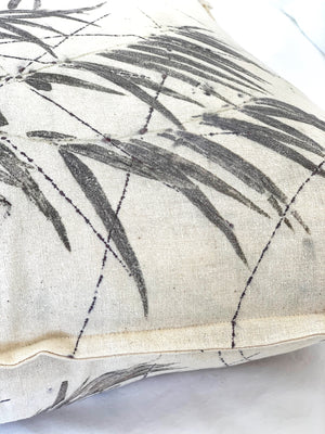 Hemp linen scatter cushion - Print 3/12May20
