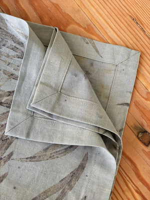 Hemp linen table napkins - Print 1/13Jun20