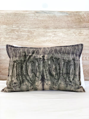 Flax linen scatter cushion - Print 1/1Jun20